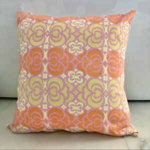 """Other - 15"""" Peach/Coral/Pink Throw Pillow"""